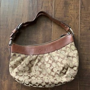 Tan Coach Bag